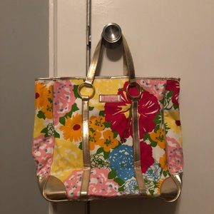 NWOT Lilly Pulitzer printed tote